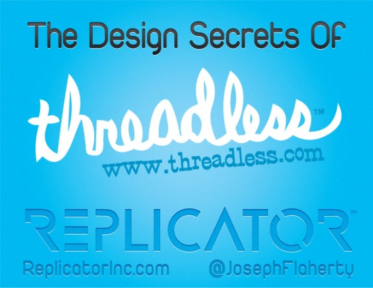 Threadless Design Secrets
