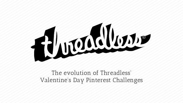 The evolution of Threadless' Valentine's Day Pinterest Challenges