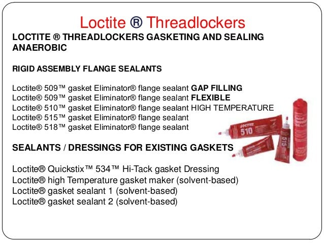 Loctite 518 Anaerobic Gasket Maker – Home Exsplore