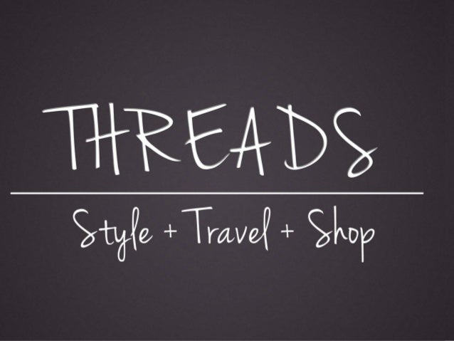 ThreadsYour one stop shop for wardrobemanagement...