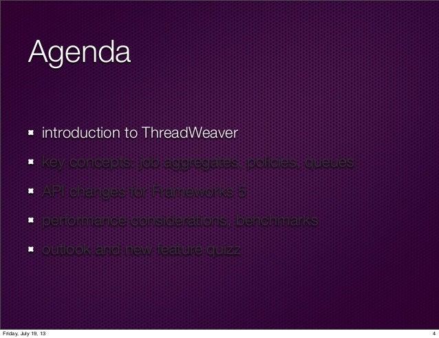 ThreadWeaver in KDE Frameworks 5