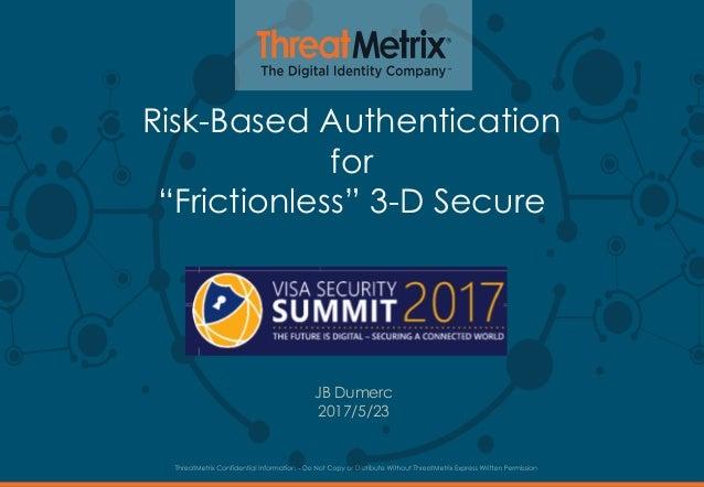 ThreatMetrix for 3d-secure