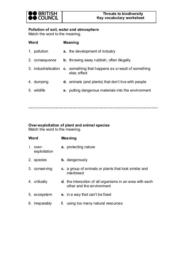 Biodiversity Worksheet Answer bill nye biodiversity worksheet – Bill Nye Biodiversity Worksheet