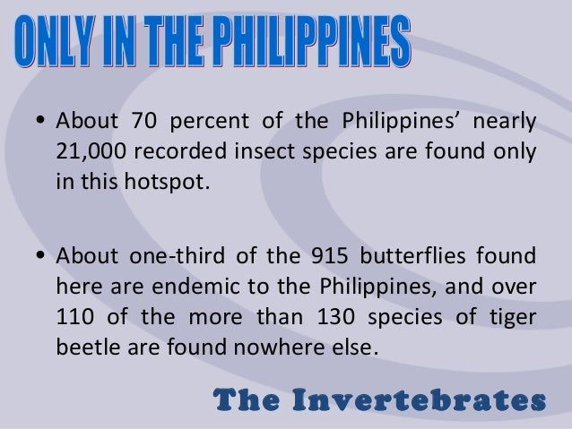 threats to philippine biodiversity Addressing the threats to biodiversity from oil-palm agriculture is the greatest immediate threat to biodiversity in of mindanao in the philippines.