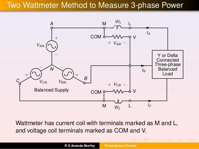 Three phase-circuits