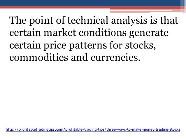 how to make money trading stock trends