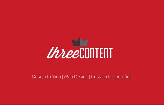 Design Gráfico | Web Design | Gestão de Conteúdo