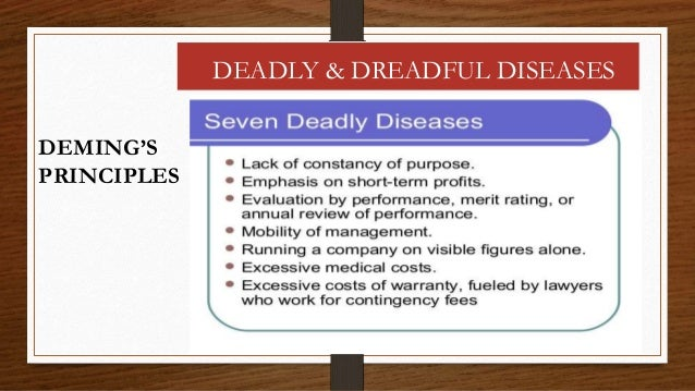 deming s 14 points and crosby's 14 Report, he attended the crosby quality college, juran to what extent are  employees involved in quality efforts institute  deming's 14 points (deming,  1986).