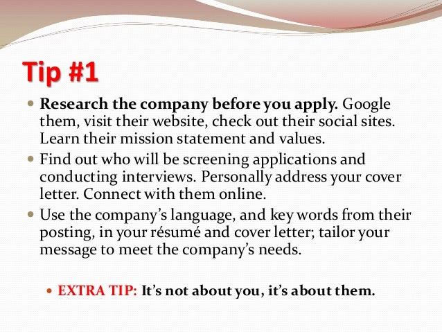 Career Tips For Creating A Custom Resume