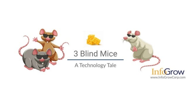 Three Blind Mice - A Technology Tale