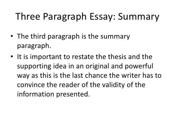 sat essay 3 paragraphs What counts for the sat essay  write five paragraphs this isn't a must, but i strongly suggest it, and that's the way i teach it in this class you're .
