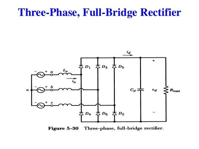 Three Phase Full Wave Bridge Rectifier Circuit Diagram Residential
