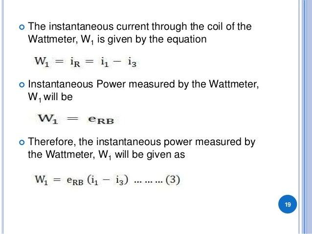 3 phase power formula pdf