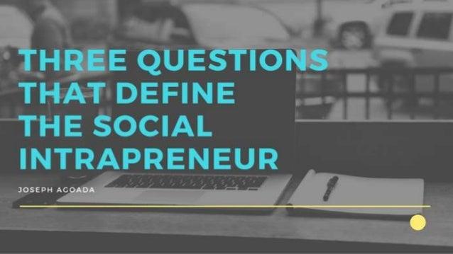 Question 1: Am I driven towards purposeful work?
