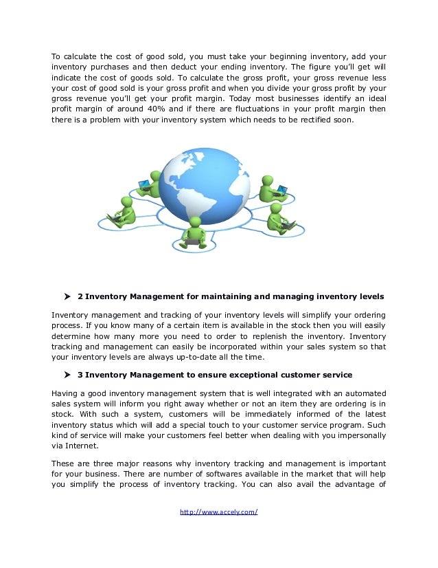 Three Reasons Inventory Management Is Important For Your Online Business Slide 2
