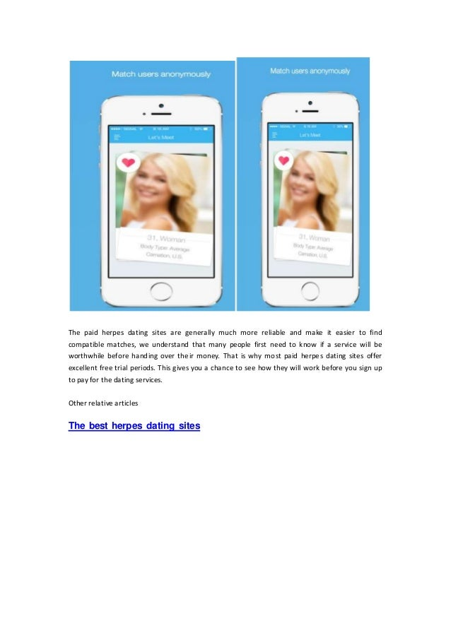 Dating sites free trial period