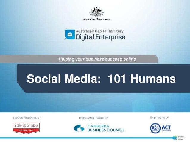 Social Media: 101 Humans