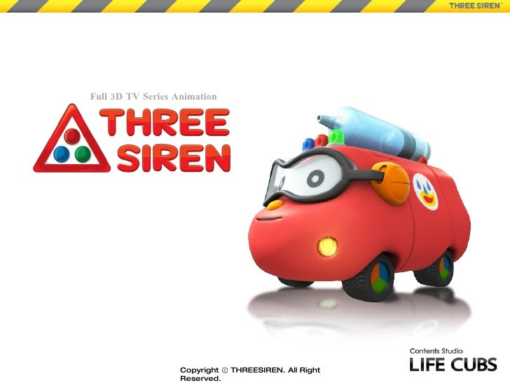 Full 3D TV Series Animation Copyright ⓒ THREESIREN. All Right Reserved.