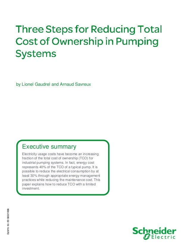 by Lionel Gaudrel and Arnaud Savreux  Executive summary Electricity usage costs have become an increasing fraction of the ...