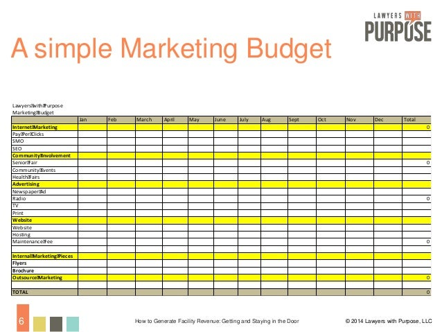 Three Steps To Creating A Law Firm Marketing Budget