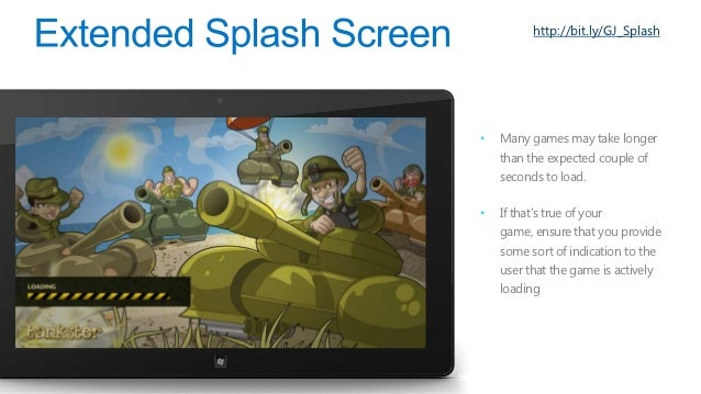 http://bit.ly/GJ_GreatGamesDrive engagement beyondstandard gameplay withachievements.Utilize weight, color and size todist...