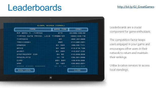 http://bit.ly/GJ_WAMS•   Windows Azure Mobile    Services makes it incredibly    easy to connect scalable cloud    backend...