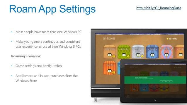 http:// bit.ly/GJ_W8SamplesWindows 8 Sampleshttp://bit.ly/GJ_W8APIWindows 8 Store Apps APIhttp://bit.ly/GJ_AppDevBlogWindo...