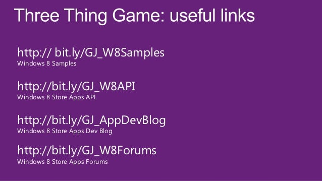 Agenda          Overview          History          Games          Porting          Demos          Questions