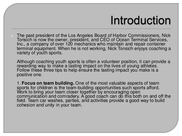 sports positive influence on kids Pros and cons of youth sports participation  create a positive sports experience for children to ensure that organized sports are positive and learning .