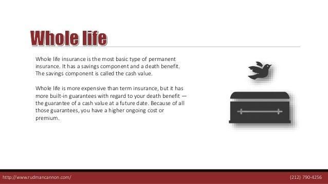 Three Types of Cash Value Life Insurance