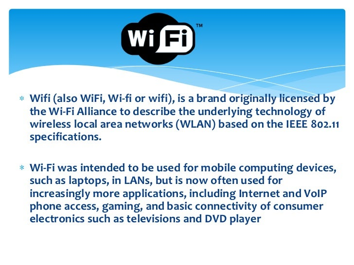 Types of wireless technology – Wireless technology types