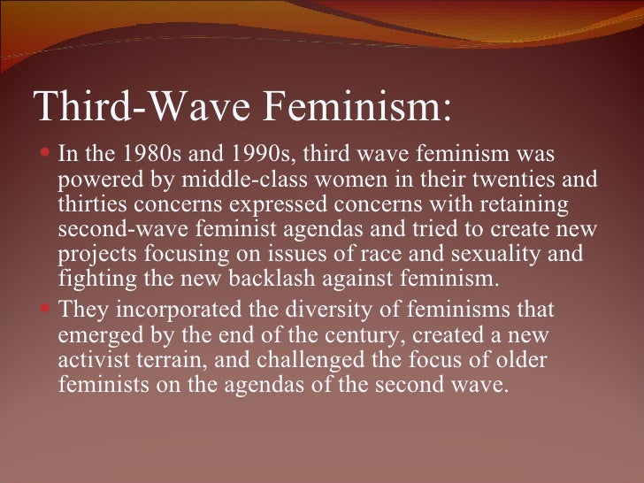 Third wave feminism summary