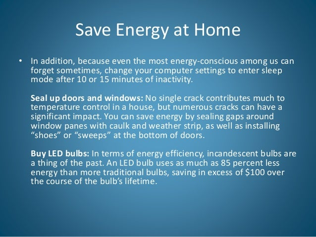 Three Ways to Save Energy at Home This Summer
