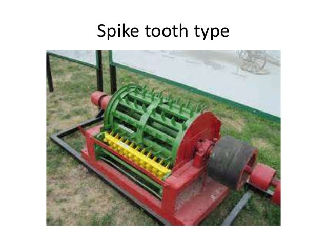 TM  Types of thresher based on source of power available -Manually operated like pedal thresher -Engine operated thresher...