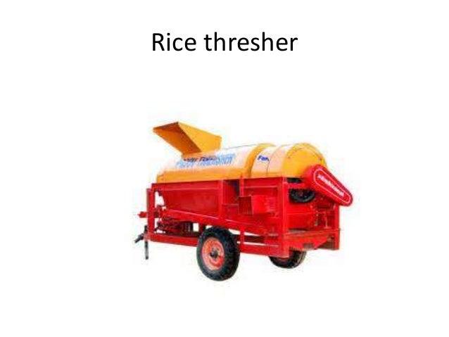 Threshing machines