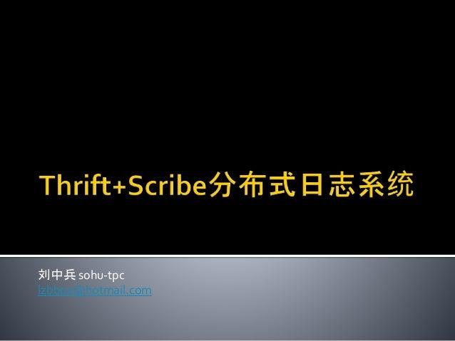 刘中兵 sohu-tpc lzbbox@hotmail.com