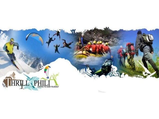 Thrill O Philia daring to dare yourself Adventure Training Center