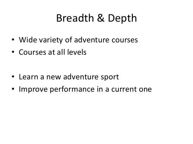 The Staff • Experienced & well qualified • Build & maintain relationships • Important ties to the adventure travel industry