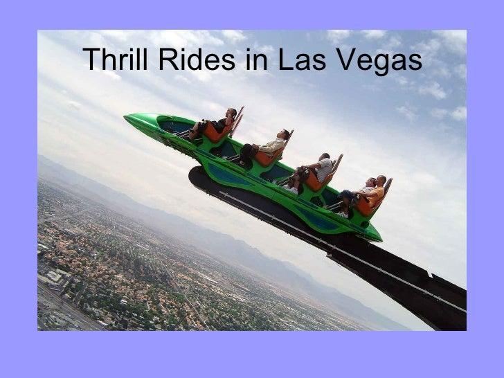Thrill Rides in Las Vegas