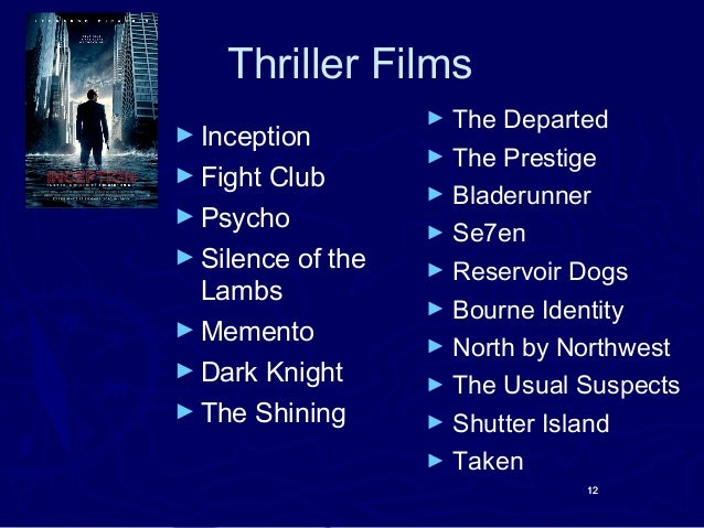 Film Genre Shutter Island Fight Club
