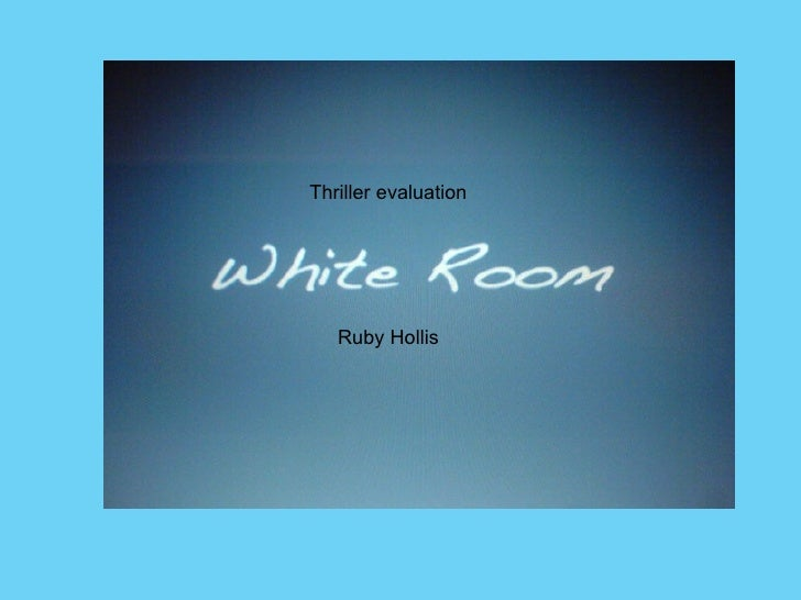 Thriller evaluation Ruby Hollis