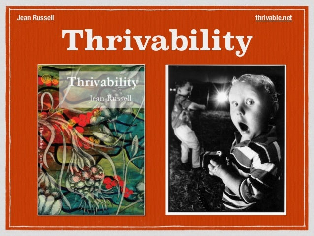 Thrivability thrivable.netJean Russell