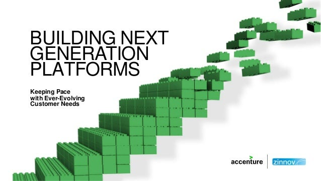 BUILDING NEXT GENERATION PLATFORMS Keeping Pace with Ever-Evolving Customer Needs