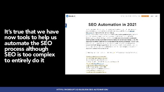 Thriving as an SEO Specialist: Frameworks & Tips to Manage Complex SEO Processes Slide 3
