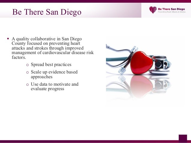 Be There San Diego - Cardiovascular Disease Prevention, a