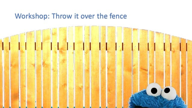 TOPdesk on Tour Workshop: Throw it over the fence