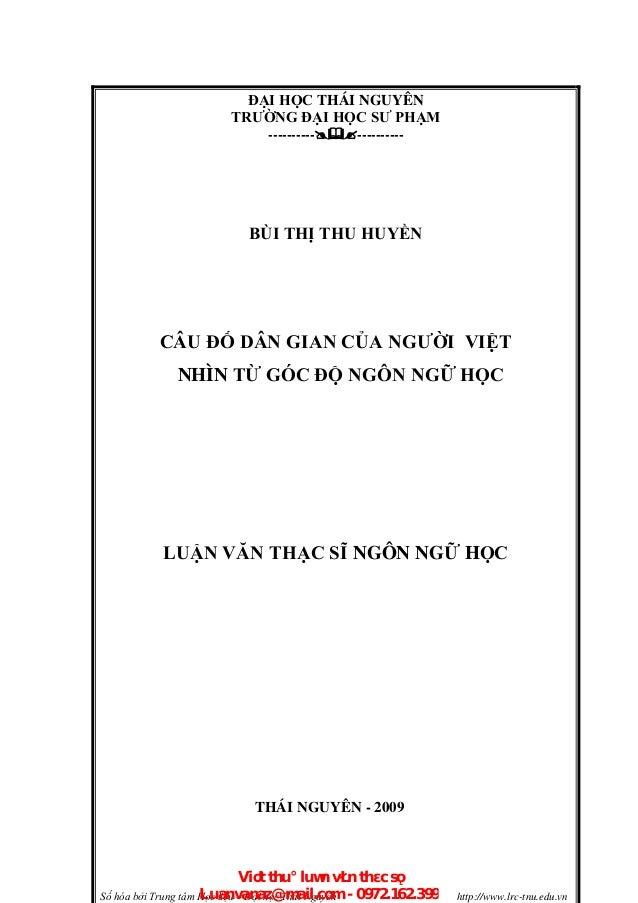 Số hóa bởi Trung tâm Học liệu – Đại học Thái Nguyên http://www.lrc-tnu.edu.vn ĐẠI HỌC THÁI NGUYÊN TRƯỜNG ĐẠI HỌC SƯ PHẠM -...