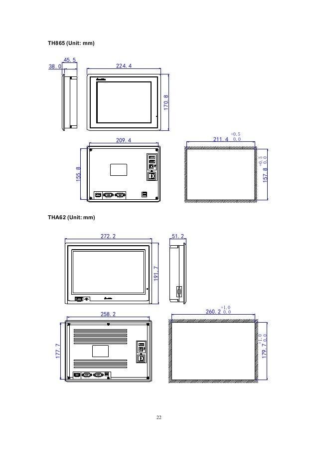 Th series hardware manual