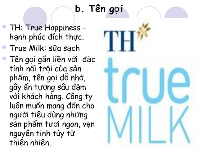 th true milk marketing plan th true milk marketing plan intructor: phd le trung thanh prepared by milky way group table of contents 1 external environment 3 11 market 3 111.