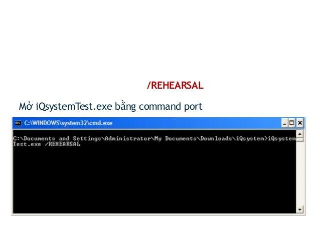 Lấy đề thi MOS chính thức  - Dựa vào chế độ REHEARSAL để lấy đề thi chính thức.  - Khi dịch ngược iQsystemTest.exe sẽ thấy...